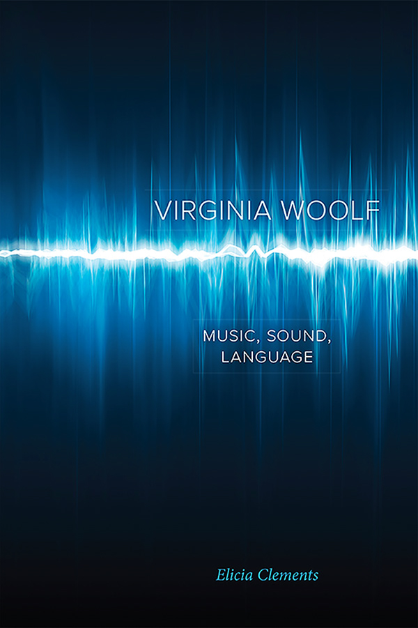 photo of the book cover for Elicia Clements book on Virginia Woolf
